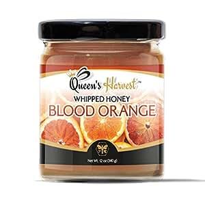 Queen's Harvest Blood Orange Whipped Honey - Kosher Gourmet