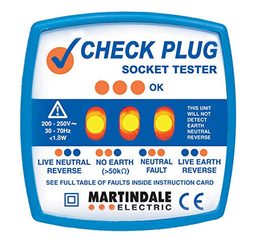Martindale CP501 Socket Tester - Blue