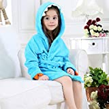MizHome Little Boys Girls' Plush Soft Hooded Dino