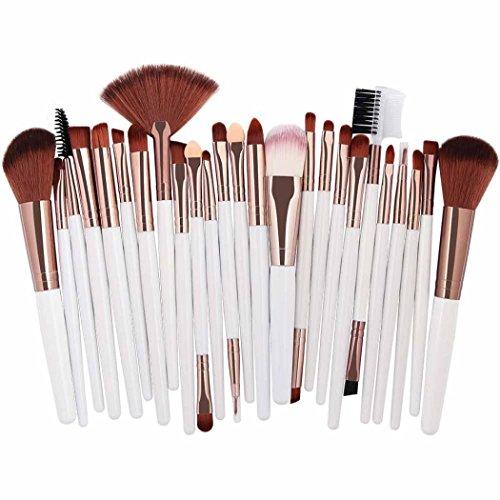 25pcs Makeup Brushes Kit Cosmetic Make Up Tool Eye Shadow Blusher Brush Set Kit (Blusher Set)