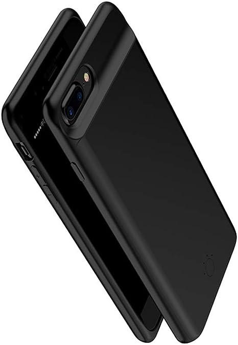 MYGIRLE para El Estuche De Batería para iPhone 6 / 6p, Recorte Recargable De 5000 Mah / 7200 Mah, Tipo De Cargador De Batería para Iphone6s / 7 / 7p (Negro): Amazon.es: Deportes y aire libre