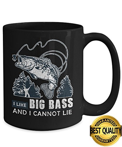 BEST QUALITY-Fishing Mug I Like Big Bass-Fishing Mug-Fishing Coffee Mug-Funny Fishing Gifts-Fishing Gifts-Fishing Gag Gifts-Fishing Gift Ideas-Unique Fishing Gifts-By - Face I My How For Do Glasses Measure