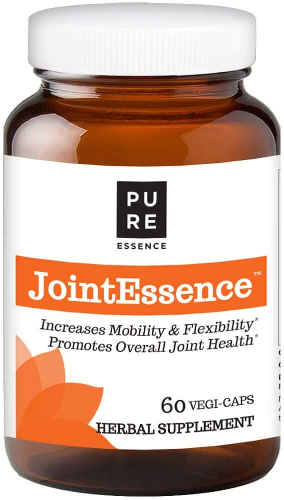 Pure Essence Labs Joint Essence Supplement – Natural Pain Relief Support for Men and Women – Non Gmo – 60 Vegetarian Capsules