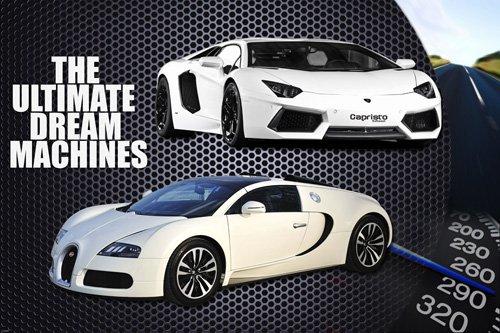 Sport Cars Poster Lamborghini Bugatti Rare Hot New
