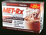 Met-Rx Engineered Nutrition Meal Replacement Extreme Chocolate - 40 Packets - Each x 1