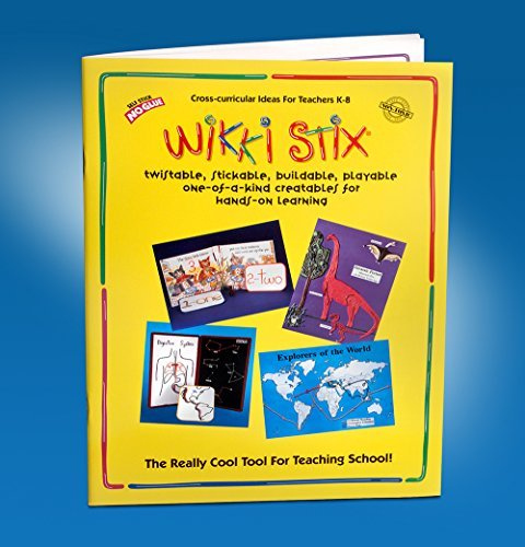 Wikki Stix Educational Resource Manual Molding & Sculpting Sticks by Omnicor