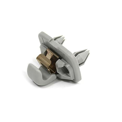Amazon.com  Genuine Moon silver retainer for sun visor AUDI ... 5304f4f23e6