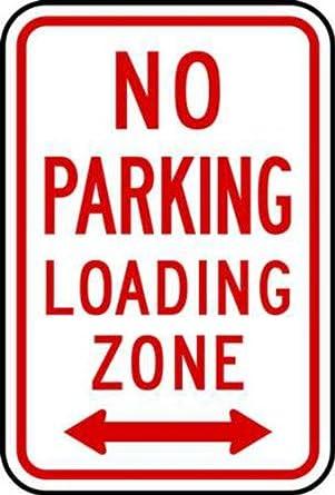 Amazon.com: Zing 2279 Eco señal de estacionar, prohibido ...
