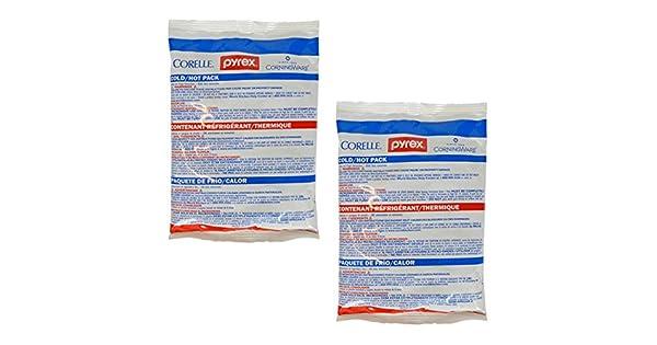 Amazon.com: Pyrex portables – Pequeñas de calor/frío, 2 ...