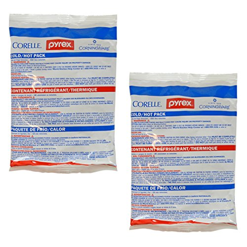 - Pyrex 1122295 Large Cold/Hot Pack (2-Pack)