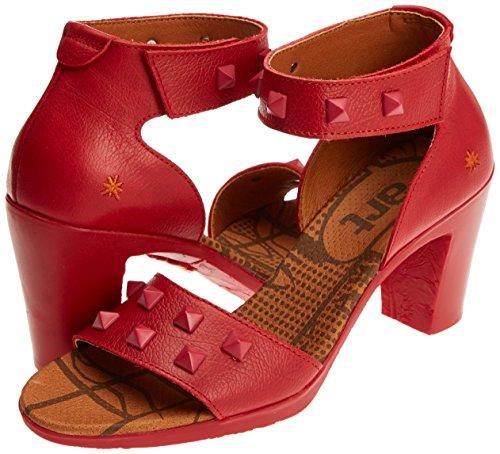 Art Strap Memphis Women''s Red 0281a Carmin Carmin Ankle Sandals Rio ZqZrv6