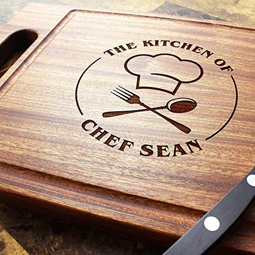 501 Engraved  Cutting Board and Cheese Board Chef Gift Personalized Cutting Board Set Personalized Gift Birthday Cheese Plate