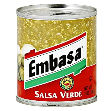 Embasa Salsa Verde Green Medium