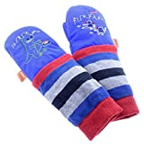 mimiTENS All Weather Long Sleeve Warm Winter Mittens (Size 2-3, Royal Big in Japan) by mimiTENS