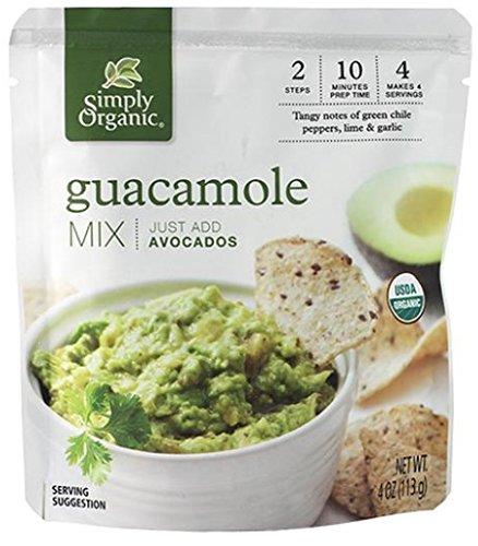 SIMPLY ORGANIC Organic Guacamole Dip Mix, 4 OZ
