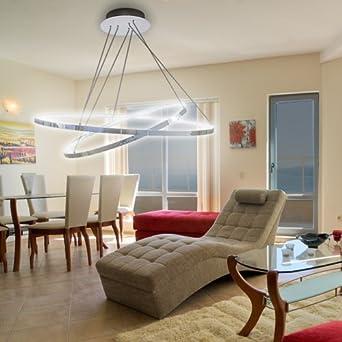 LuMi LED Pendelleuchte Höhenverstellbar Küchen Deckenleuchte - Deckenleuchte schlafzimmer modern
