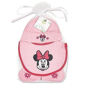 Amazon.com: Minnie Mouse Sombrero, babero, Y Botitas para ...