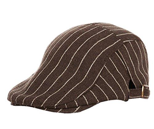 Home base Prefer Kids Classic IVY newsboy Cap Boy's Vintage Driver Cap Woolen Flat Cap Irish Cap Coffee