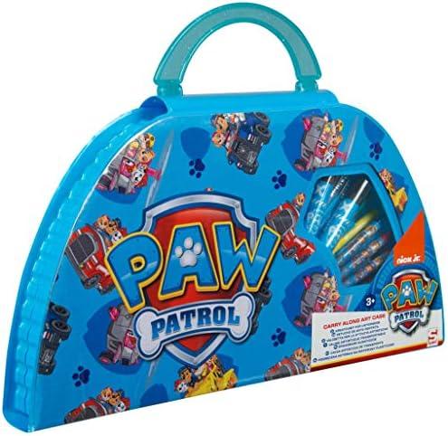 PAW PATROL Estuche Pinturas para Niños, Maletin Pinturas con Material Escolar, Incluye Acuarelas Niños Rotuladores y Ceras de Colores, Regalos Creativos para Niños y Niñas 3+: Amazon.es: Juguetes y juegos