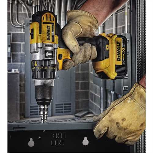 Using as hammer Drill
