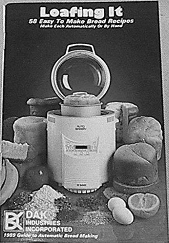 dak bread machine manual