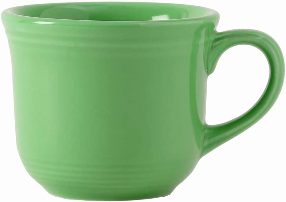 Tuxton Home THCTF0702-6B Concentrix 8oz Round Cup, Mug, Set of 6, Cilantro Green