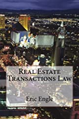Real Estate Transactions Law Paperback