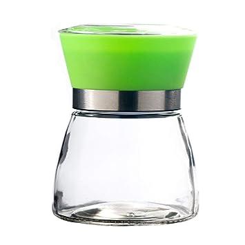 Manual Multifuncional, Vidrio Ceramico, Pimienta Negra, Pimienta En Polvo,Verde