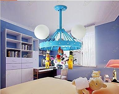 Gxs cartone animato con carosello lampadine led illuminazione