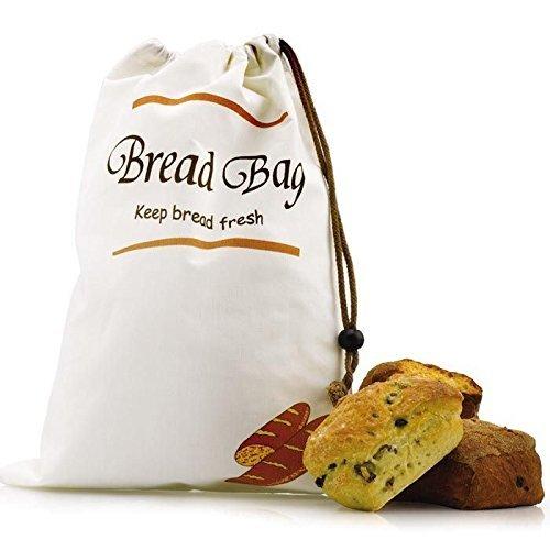 CKS Bread Storage Bag Keep's Bread Fresh For Longer! (Pack of 2)