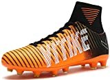VITIKE Kids Soccer Cleats for Boys Youth Cleats Football Boots with High Ankle