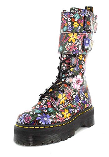Boots mallow Pink Leather Black Backhand Jagger martens Wanderlust Womens Dr nX0Opap