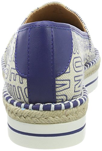 Love Moschino Damen Scarpad.13447/35 Can.Emb.BLT/VT.BLT Slipper Blau (Bluette)