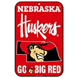 WinCraft Nebraska Cornhuskers Official NCAA 11'' x 17'' State Plastic Wall Sign 11x17 by 575319