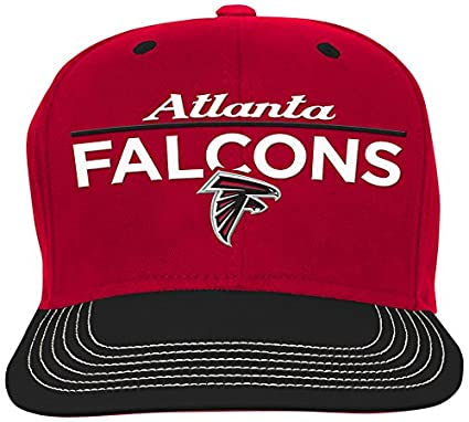 4c4bca031df Outerstuff NFL Youth Boys Retro Bar Script Flatbrim Snapback Hat-Crimson-1  Size