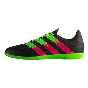 Adidas Kinder Fussballschuhe Ace 16.3 In J Cblack/sgreen/shopin 34 Lmo1lg