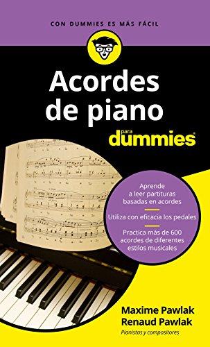 Acordes de piano para Dummies (.) (Spanish Edition) - Kindle edition by Maxime Pawlak, Renaud Pawlak, Pilar Recuero Gil. Arts & Photography Kindle eBooks ...
