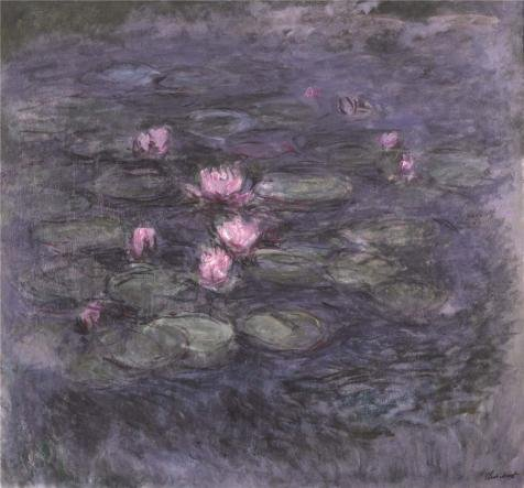 'Water Lilies, 1914 By Claude Monet' Oil Painting, 10x11 Inch / 25x27 Cm ,printed On Perfect Effect Canvas ,this Best Price Art Decorative Canvas Prints Is Perfectly Suitalbe For Bar (Tango Lily Halloween)
