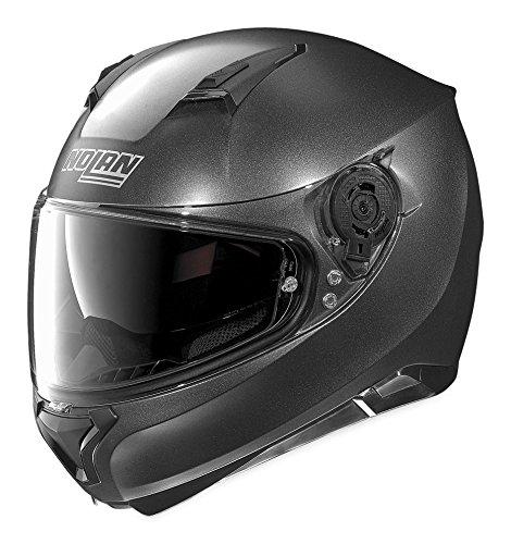 Nolan Unisex Adult N87 Black Graphite Full Face Helmet N875270330096