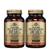 Solgar, Selenium, 200 mcg, 250 Tablets - 2pc