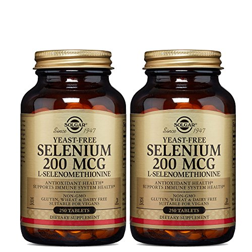 Solgar, Selenium, 200 mcg, 250 Tablets - 2pc