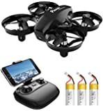 Potensic A20W Mini Drone with Camera, 720P RC FPV Drone for Kids and Beginners, Easy to Fly Portable Quadcopter with…