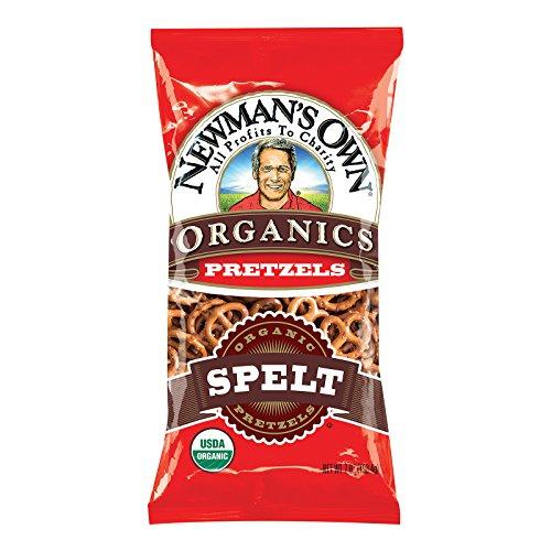 Newmans Own Organics Pretzels - Newmans Own Organics Spelt Pretzels - Case of 12 - 7 oz.