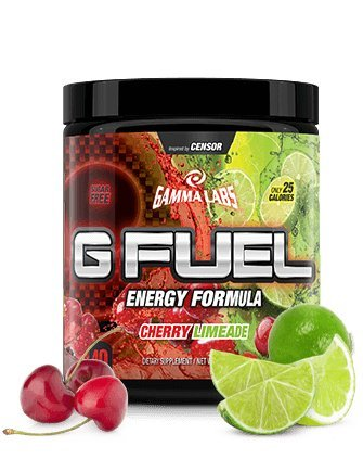 G Fuel Cherry Limeade Tub (40 Servings) Elite Energy and Endurance Formula 9.8oz