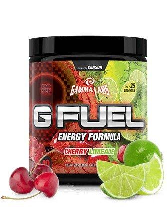 G Fuel Cherry Limeade Tub (40 Servings) Elite Energy and Endurance Formula 9.8oz
