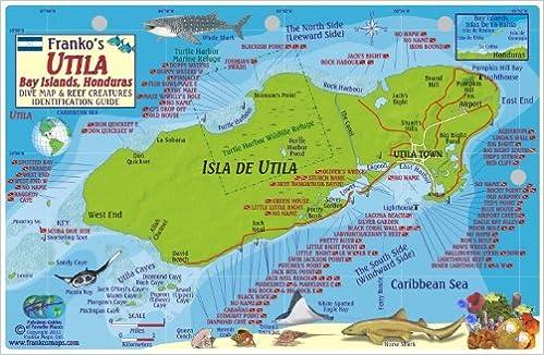 where is roatan honduras on the world map