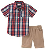 Kids Headquarters Boys' Toddler 2 Pieces Shirt