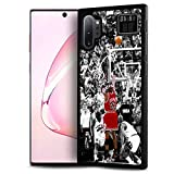 for Samsung Note 10+, Galaxy Note 10 Plus, AjourTec Durable Protective Soft Back Case Phone Cover, HOT12145 Basketball