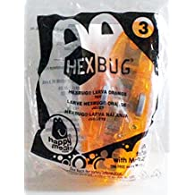 McDonad's Happy Meal Toy Hexbug Larva Orange #3 from 2011