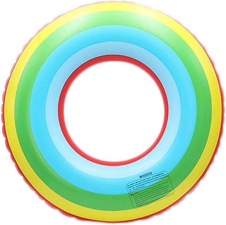 クリエイティブQ.AWOUスイムリングPVC厚く旅行ポータブルビーチQ.AWOUプールフローティング行インフレータブルグッズ(サイズ:60 cm)